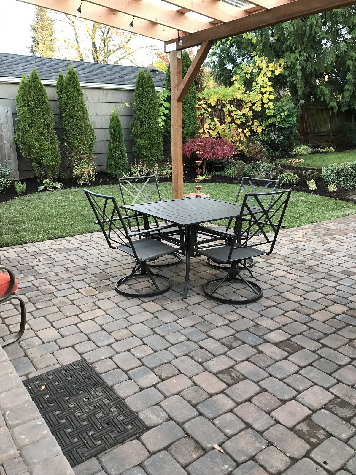 backyard pavers 3 - Paver Patios & Walkways Riverdale Landscape Construction